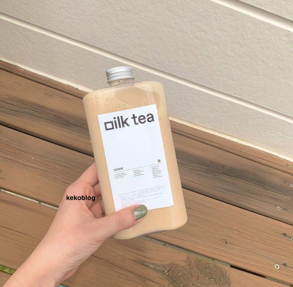 「ㅊa(チャ)」のタルゴナミルクティーを家で飲んでみた