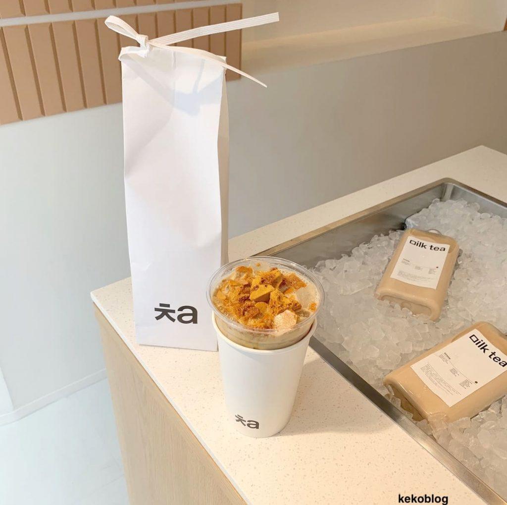 日本上陸!韓国カフェ「ㅊa」のタルゴナミルクティーが美味しすぎた!