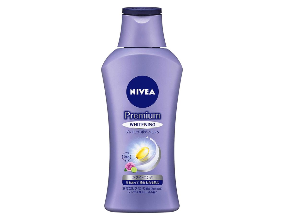 2020年買ってよかったコスメ・プレミアムホワイトニングボディミルク/NIVEA